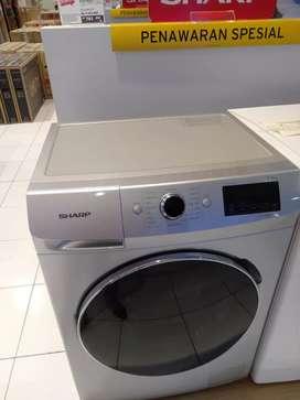 Mesin cuci SHARP WASH MACH bisa credit tanpa CC