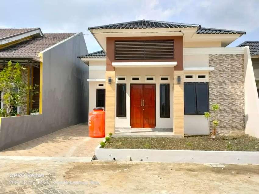 Rumah cluster, bisa request unit
