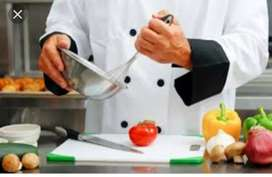 Required coock or chef for North India and Chinese continental