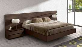 king size bed with dressing brand new