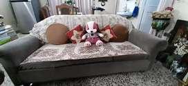 Regular Foam Sofa set of 5 ( 3+1+1 )