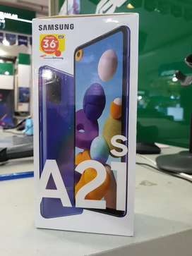 Samsung A21s 6/64 gb new resmi
