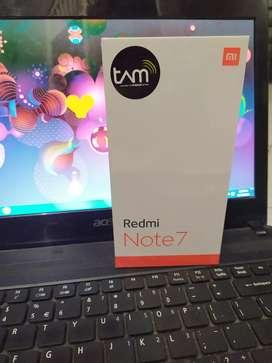 Redmi Note 7 4/64 Warna Neptune Blue Garansi TAM NEW