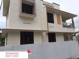 4 Cent Plot 1900 Sq. Ft 4 Bhk House In Ramankulangara