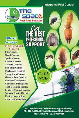 The space Pest control services