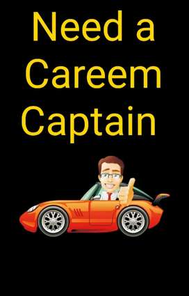 Need a careem captain