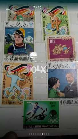 Postal Stamps Collection