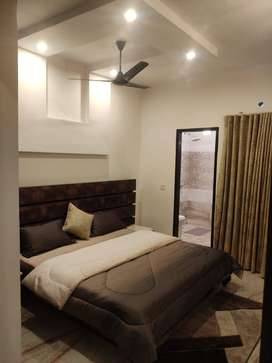 ZERO METER DISTANCE FROM HIGHWAY 2 BHK FULLY FURNISHED FLAT IN MOHALI