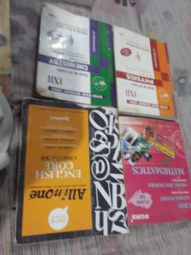 Class 12 PCM OR C.S almost all books ncrt or pradeepi