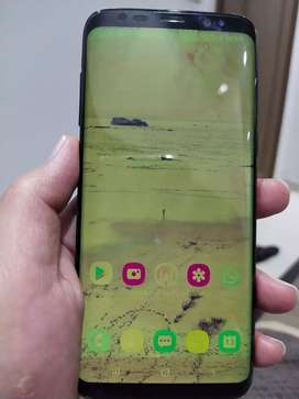 Samsung s8 faded screen