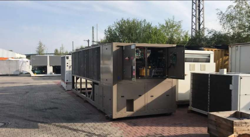 YCIV 0630 VSD Type Air cooled (Used) Chiller 0