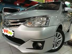 ETIOS 2014 pmk 2015 manual MT silver toyota Etios manual