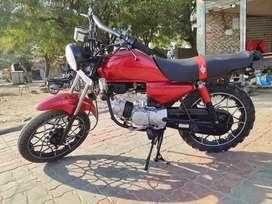 Fully Modified Sport Look bike..