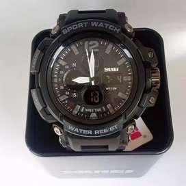 Skmei 1343 original waterresist jam tangan malang free cod