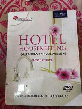 Hotel Management- Hotel Housekeeping by G. Raghubalan