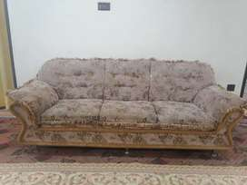 5 seater sofa with original factory fancy cushion