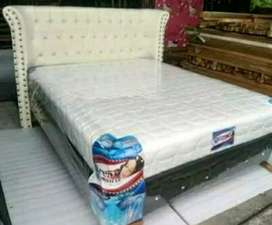 Spring bed boxi platinum