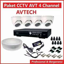 Promo paket resolusi 2MP brand SPC  4 kamera indor/outdor 1080p  dvr