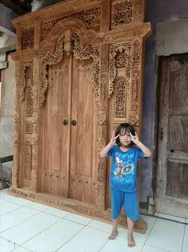 cuci gudang pintu gebyok gapuro jendela rumah masjid musholla puspa