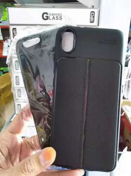 softcase soft case auto focus embos casing hp hitam tebal jantungacc