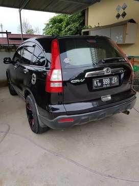Honda new cr-v 2,4 matic hitam bagus terawat