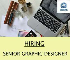 WANTED SENIOR GRAPHIC DESIGNER