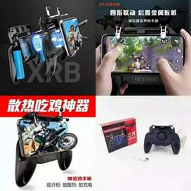 Gamepad kipas pendingin game pad fan trigger l1 r1 pubg free fire iw1
