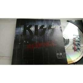 CD ROCK KISS REVENGE USA PRESS ORIGINAL