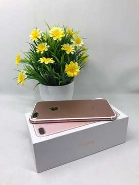 Iphone 7 plus 128gb rose gold second all provider