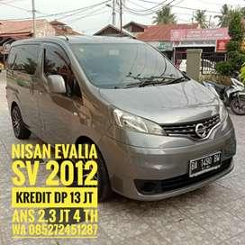 Nissan Evalia SV 2012 kredit Dp 15 jt