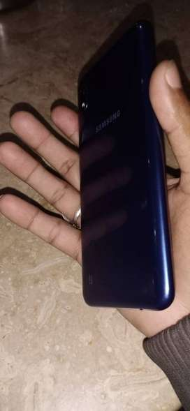 Samsung Galaxy A10 with complete box and charger