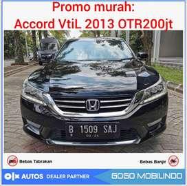 Promo All New Accord VTIL AT 2013 / 2014 Murah bs kredit