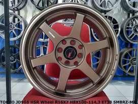 Velg Mobil Type TOKYO JD966 HSR Ring 16 Padang Utara SUMBAR Xenia dll