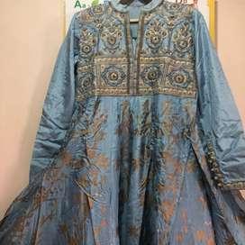 Beautiful one piece gown branded original vasani jaipur