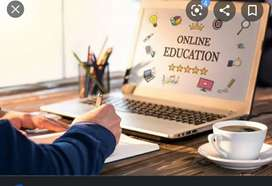 Online zoom classes teaching