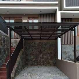 Canopy alderon, canopy kaca, canopy solarflat, polycarbonate, dll
