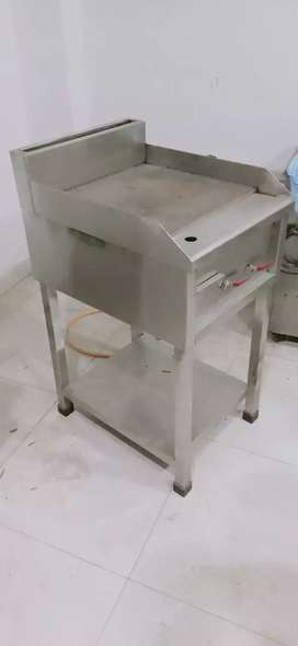 Hot plate and charcoal grill
