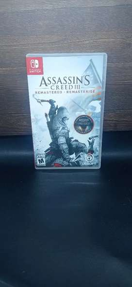 Assassins creed 3 remastered Nintendo switch