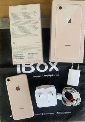 iphone 8 64gb gold ex garansi resmi iBox
