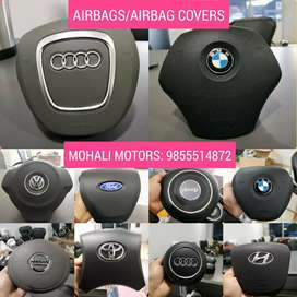 Airbags and airbag covers airbags