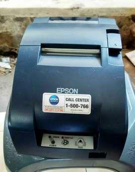 Printer kasir Epson TM-U220b Dot Matriz AutoCut Usb Segel Bergaransi