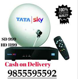 Tata Sky New DTH Connection Just In 999/-