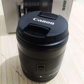 Lensa EOS EF M 11-22mm f/4-5.6 IS STM