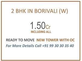 2BHK In Borivali West, Just 1.50 Cr.
