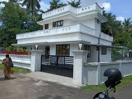 KANIMANGALAM,Thrissur, 10 cent, 1700 sqft, 3 BHK, 74 Lakh Negotiable,