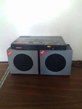 Working condition DVD with speaker's