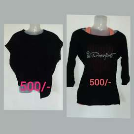 Black top only 500/-