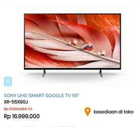 Sony UHD Smart Google Tv 55 Inch