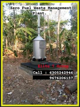 Zero Fuel Waste incinerator/ഇന്ധനരഹിത മാലിന്യം സംസ്കരിക്കുന്ന പ്ലാന്റ്