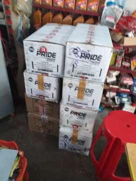 Oil delivery krna hai aur collection krna hai